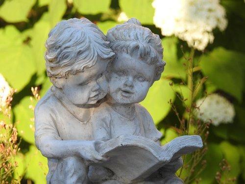 figurine plaster  ornament  garden