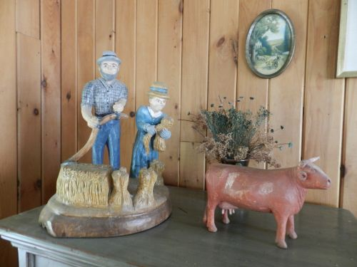 Old Wooden Figurines
