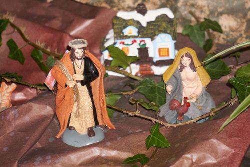 Figurines Of Christmas Crib