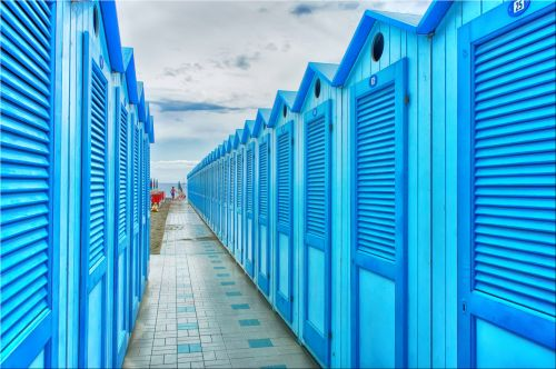 Row Of Cabins
