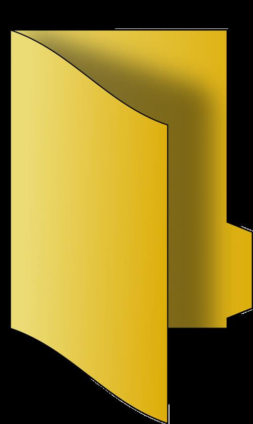 file folder dossier