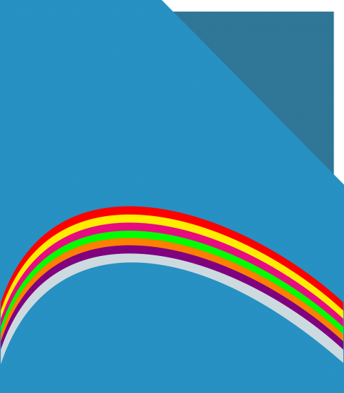 file filing rainbow