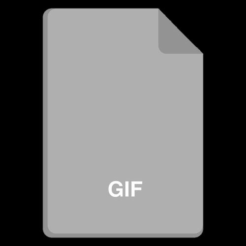 file icon  vector file  gif icon