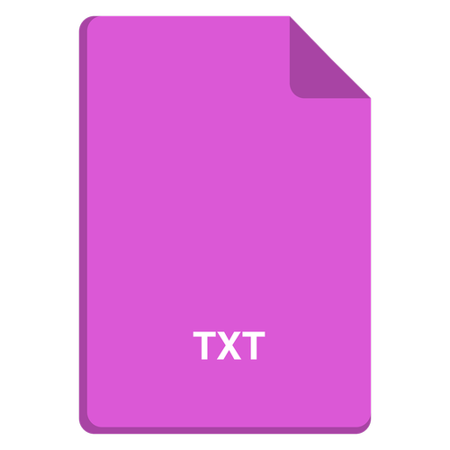 file icon  vector file  txt icon