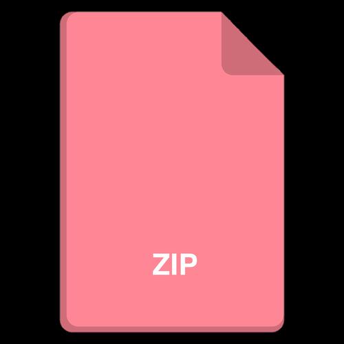 file icon  vector file  zip icon