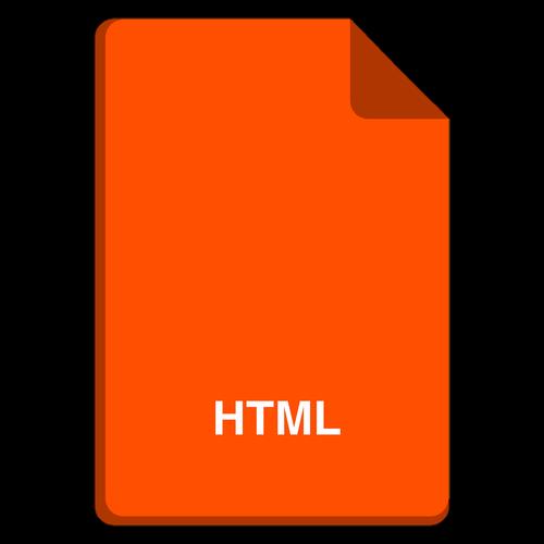 file icon  vector file  html icon