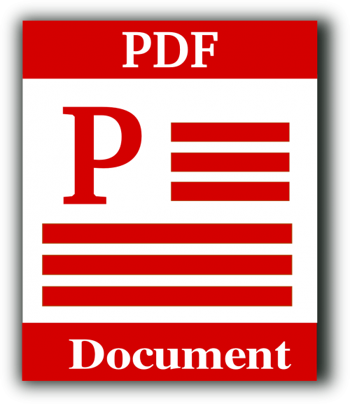 file type pdf portable document format