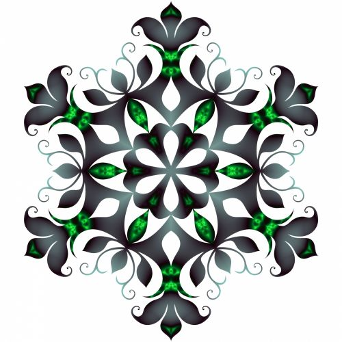Filigree Snowflake 2