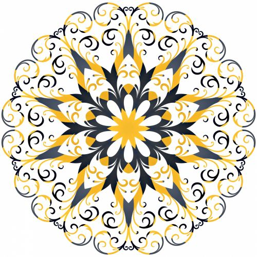 Filigree Snowflake 3