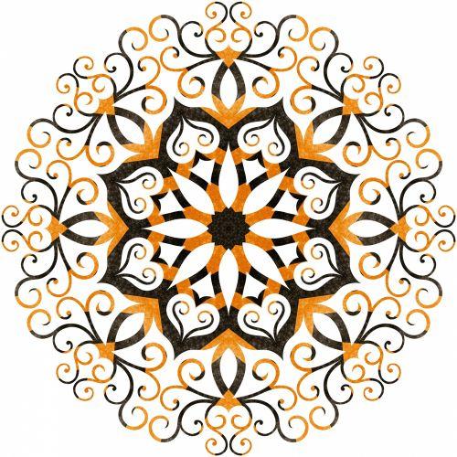 Filigree Snowflake 5