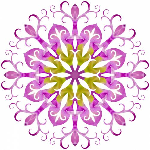 Filigree Snowflake 6