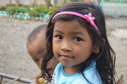 filipino girl happy