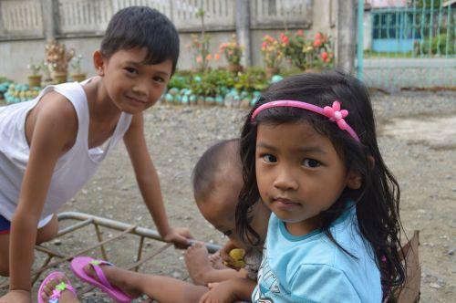 filipino children native filipinos