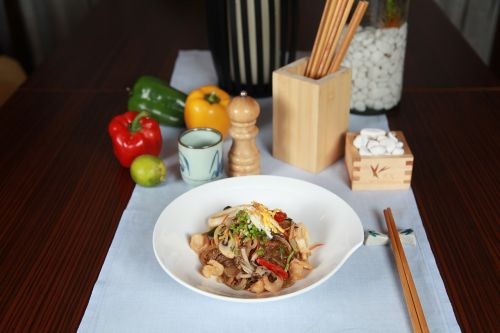 filipino cuisine noodles stirfry