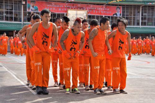 filipino prisoners dance dancing