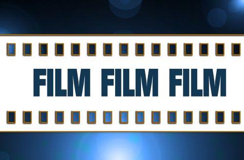 film filmstrip white