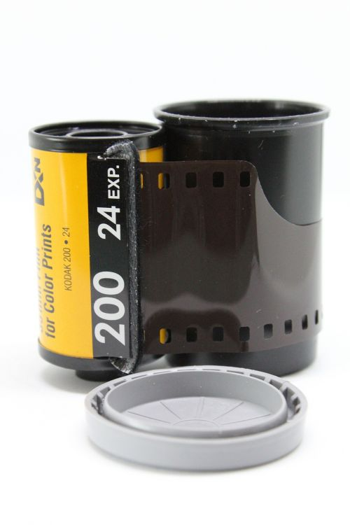 film photography filmstrip