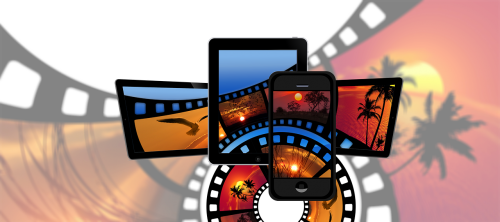 film filmstrip smartphone