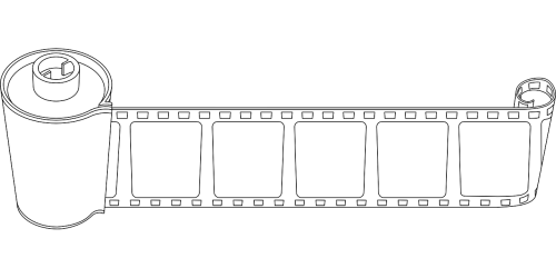 film negative coil
