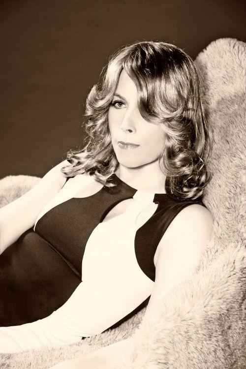 film noir black and white portrait movie star
