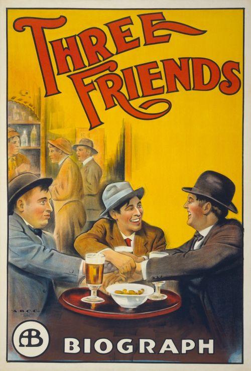 film poster poster three friends
