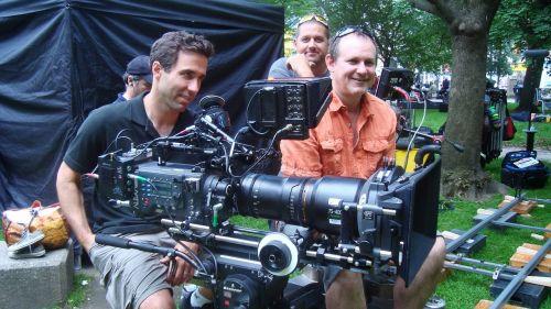 filming movie film crew