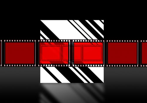 filmstrip cinema strip video film