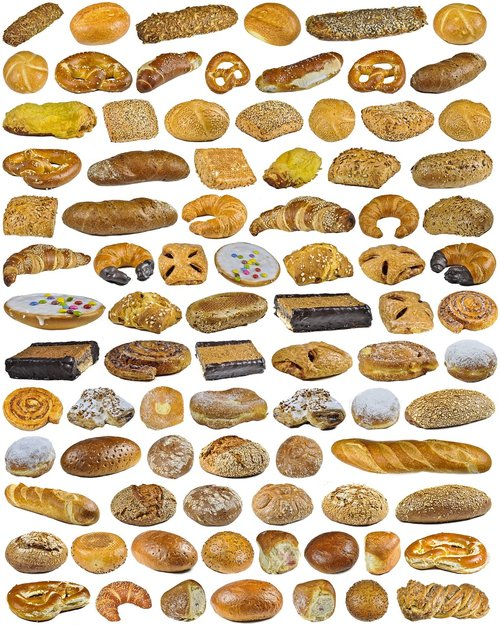 find 3 pretzel out  background  collection