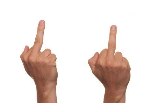 finger provocation rebel