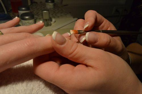 fingernails hands nail design