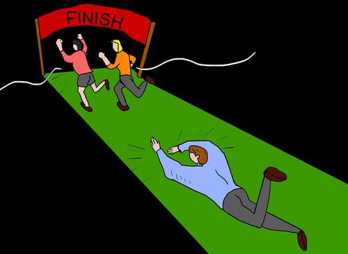 finish line  finishing  finishing line