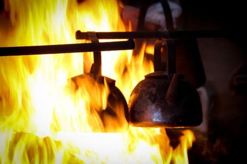finland fire hut