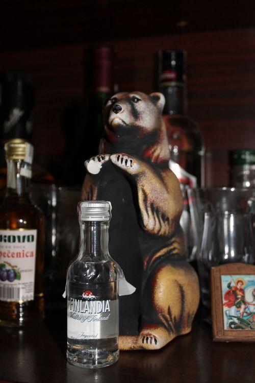 finland bear souvenir