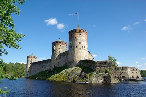 finland savonlinna fortress