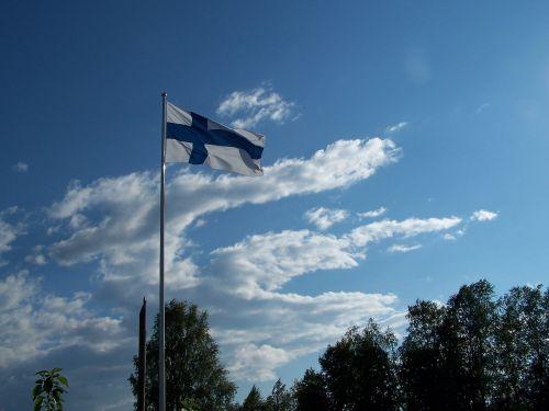 finnish flag oulu
