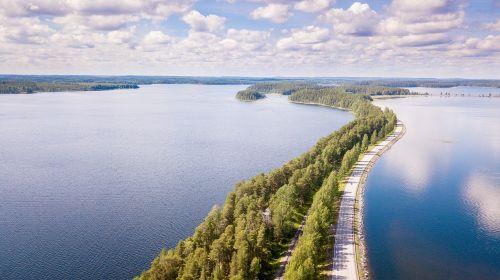 finnish punkaharju landscape