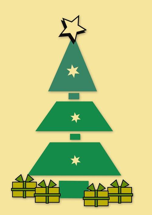 fir tree  christmas tree  christmas