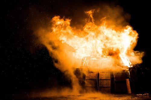 fire explosion danger