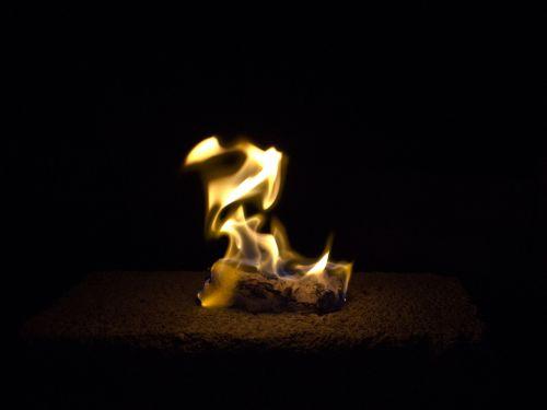 fire darkness ablaze