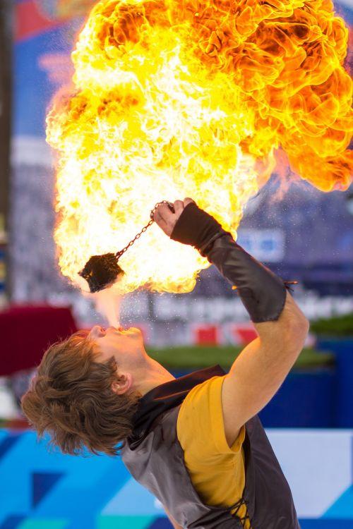 fire show fire flame
