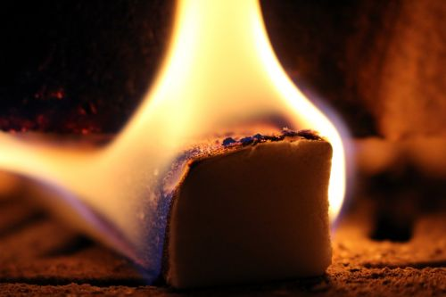fire kindle fireplace