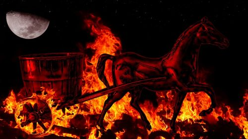 fire horse embers