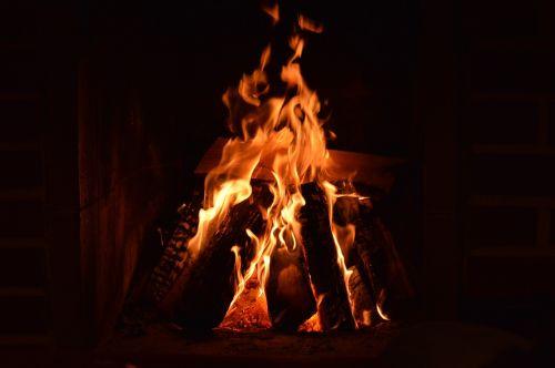 fire bonfire heat