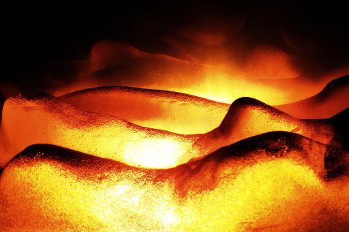 fire heat embers