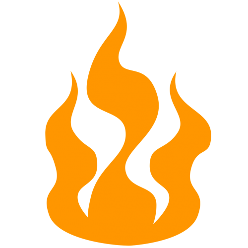fire hot icon