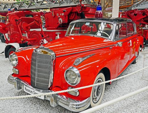 fire fire chief mercedes 300