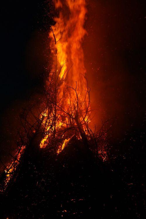 fire fire storm flame