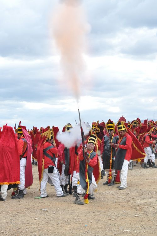 fire gunpowder religion