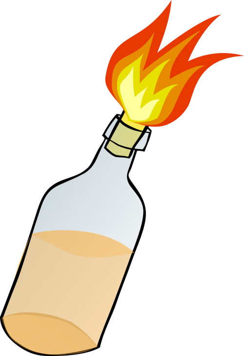fire bottle bomb