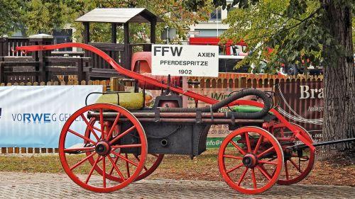 fire horse syringe historically